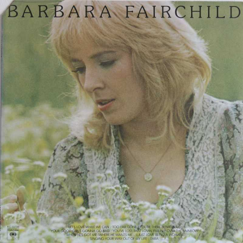 Barbara Fairchild - Self Titled LP Record (Country Music vinyl record for sale)