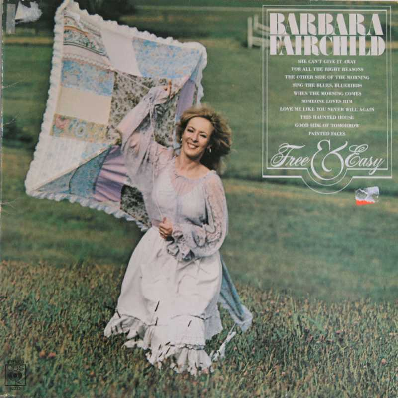 Barbara Fairchild - Free And Easy (Country Music vinyl record for sale)