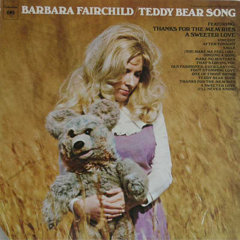 Barbara Fairchild - Teddy Bear Song (Country Music vinyl record for sale)