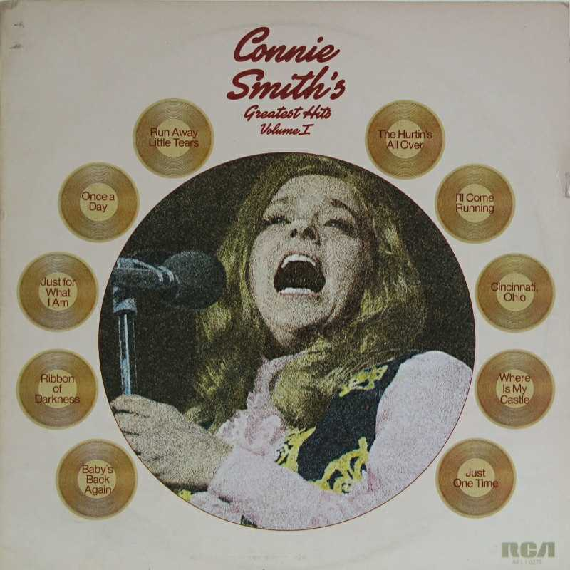 Connie Smith - Connie Smith's Greatest Hits volume 1 (Country Music vinyl records and CDs for sale)