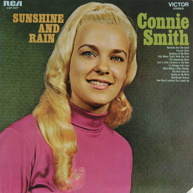 Connie Smith - Sunshine And Rain  (Country Music vinyl records and CDs for sale)