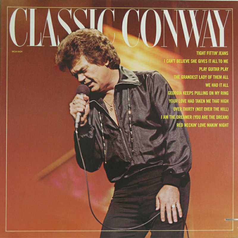 Conway Twitty - Classic Conway  (Country Music vinyl record for sale)