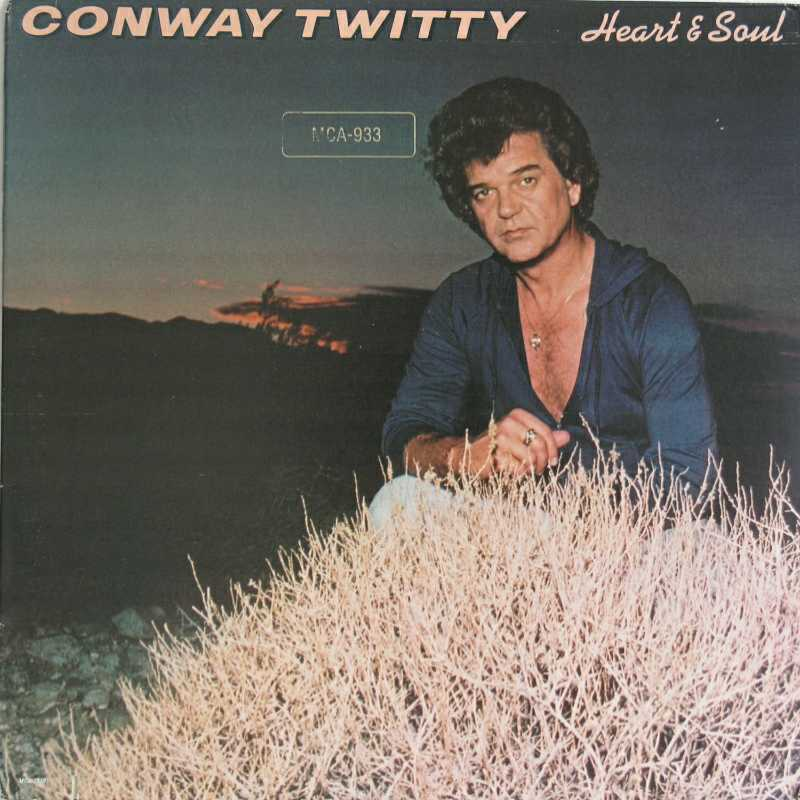 Conway Twitty - Heart And Soul  (Country Music vinyl record for sale)