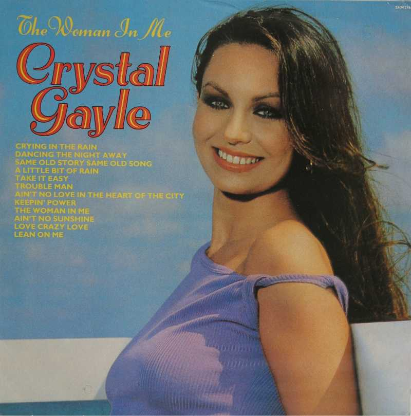 Crystal Gayle - The Woman In Me (Country Music vinyl record for sale)