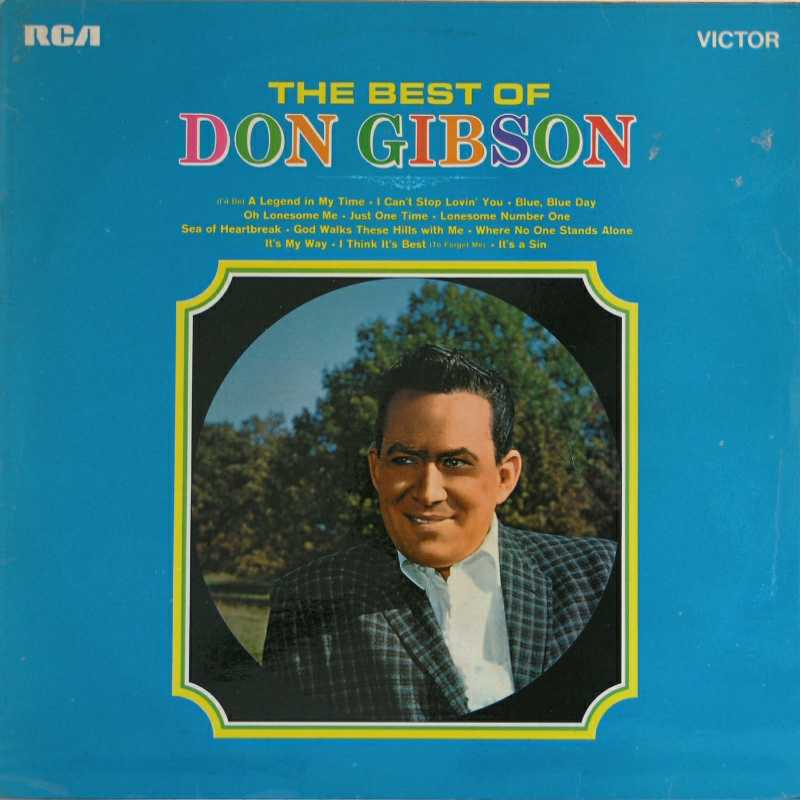 Don Gibson - The Best Of Don Gibson  (Country Music vinyl record for sale)