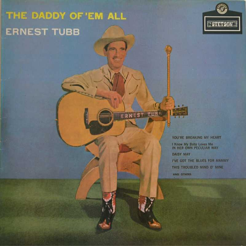 Ernest Tubb - The Daddy Of 'Em All  (Country Music vinyl record for sale)
