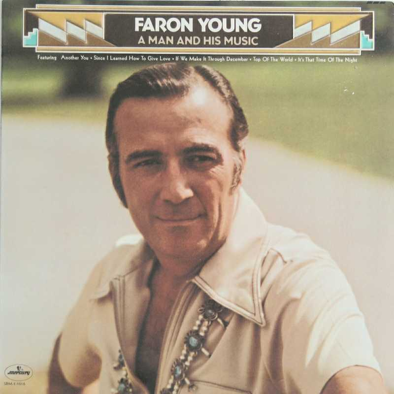Faron Young - A Man And His Music  (Country Music vinyl record for sale)