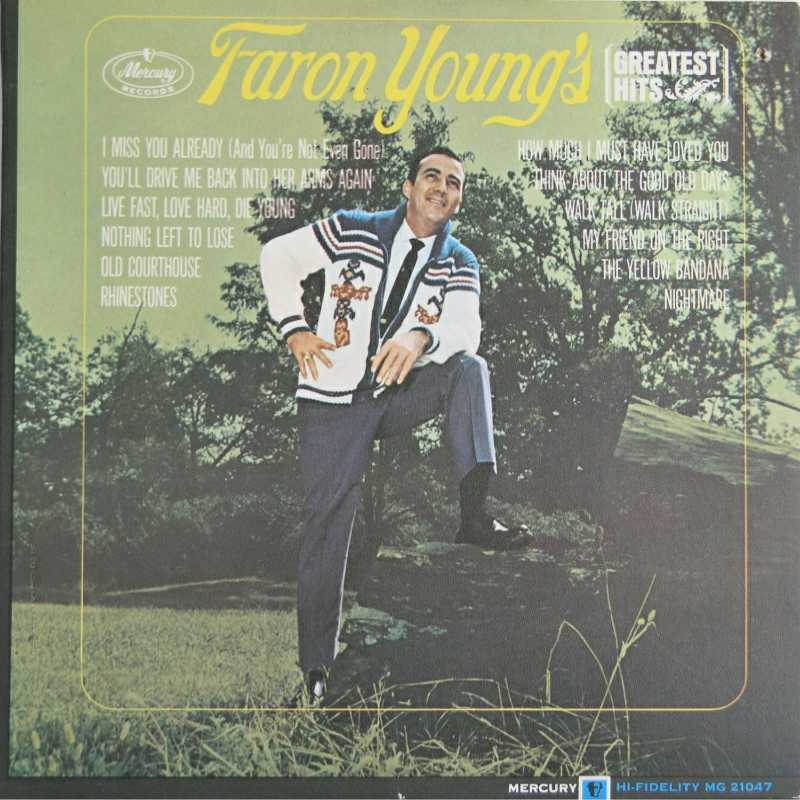 Faron Young - Faron Young's Greatest Hits  (Country Music vinyl record for sale)