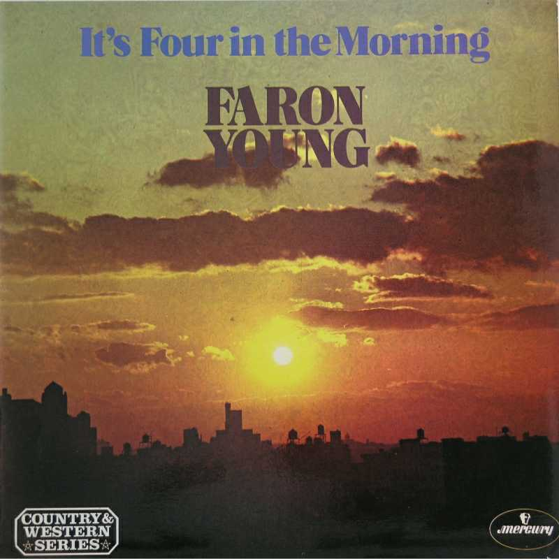 Faron Young - It's Four In The Morning  (Country Music vinyl record for sale)
