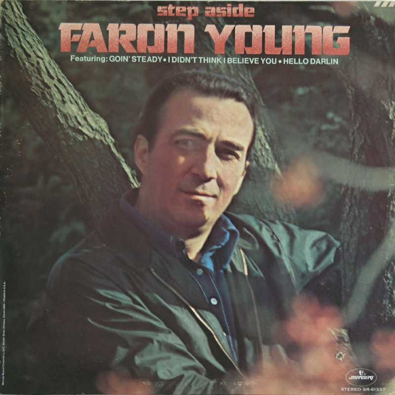 Faron Young - Step Aside  (Country Music vinyl record for sale)