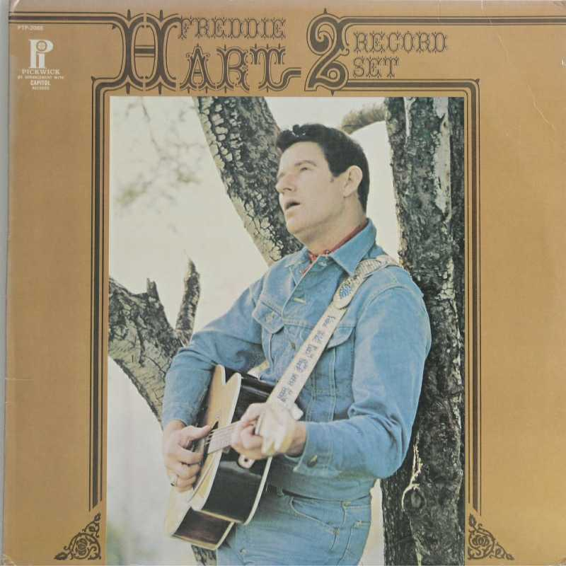 Freddie Hart - Two Record Set(Country Music vinyl record for sale)