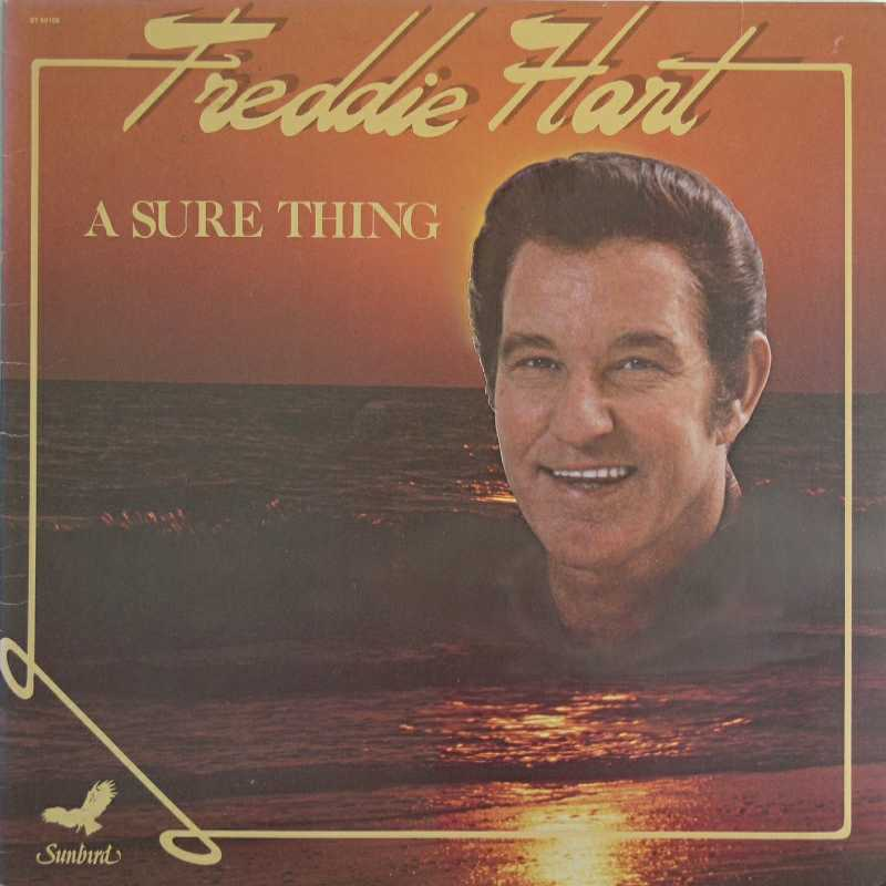 Freddie Hart - A Sure Thing(Country Music vinyl record for sale)