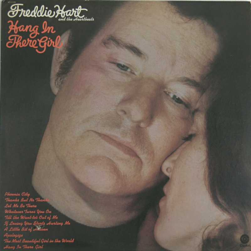 Freddie Hart - Hang In There Girl(Country Music vinyl record for sale)