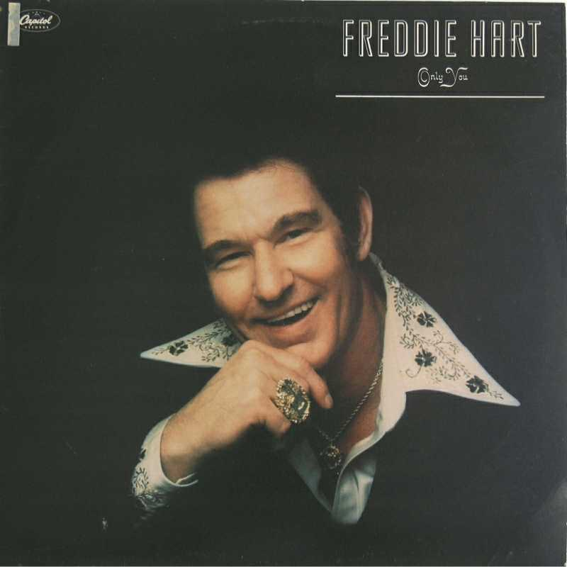 Freddie Hart - Only You(Country Music vinyl record for sale)
