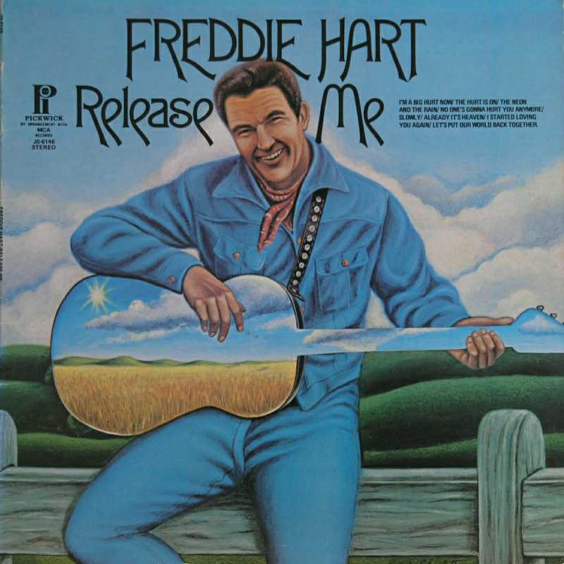 Freddie Hart - Release Me(Country Music vinyl record for sale)
