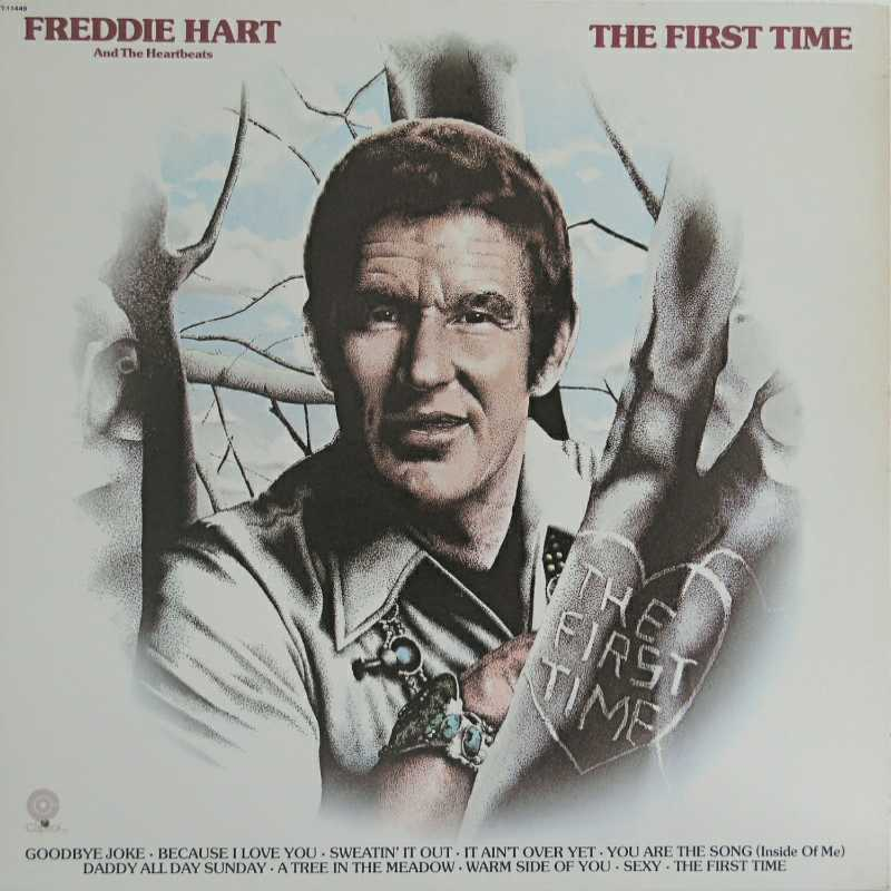 Freddie Hart - The First Time(Country Music vinyl record for sale)