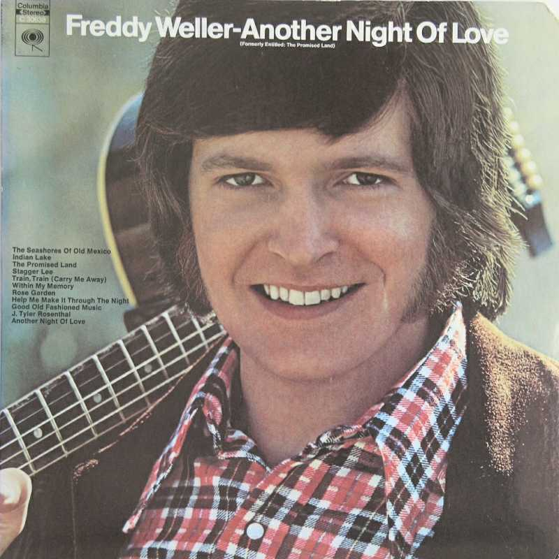 Freddy Weller - Another Night Of Love (Country Music vinyl record for sale)