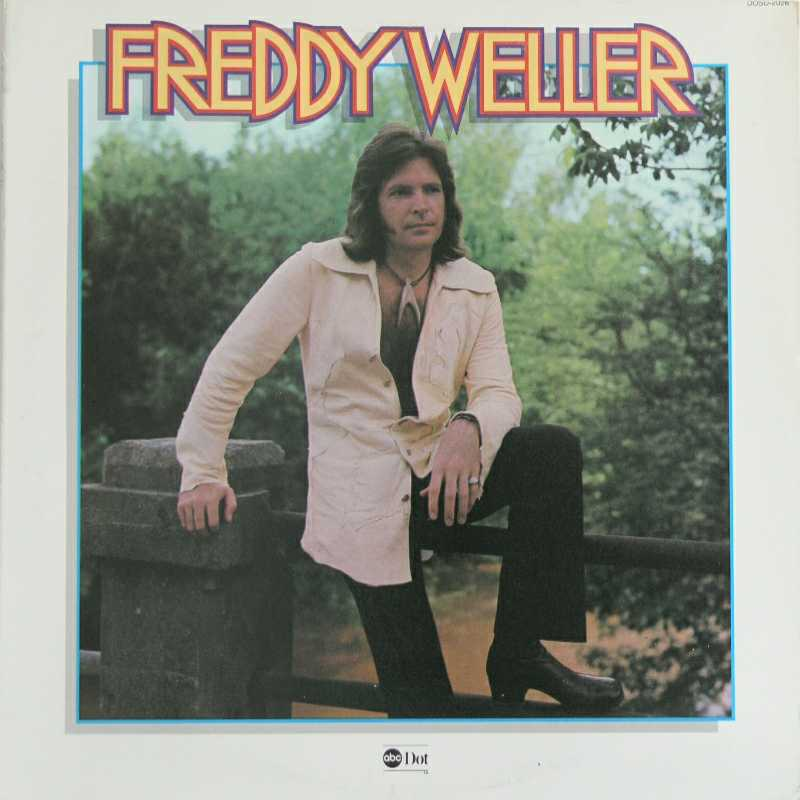 Freddy Weller - Freddy Weller (Country Music vinyl record for sale)