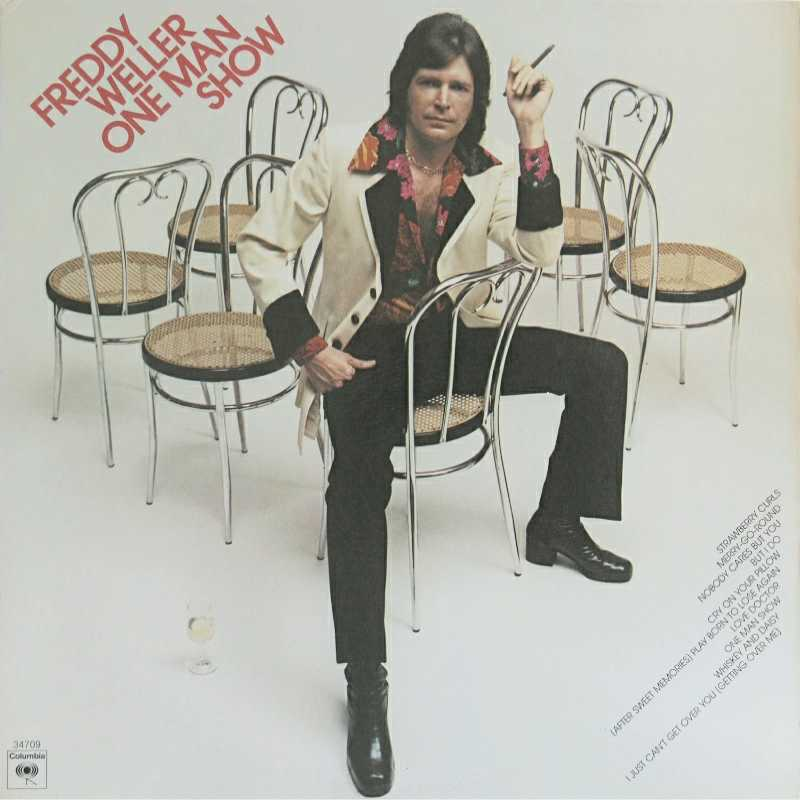 Freddy Weller - One Man Show (Country Music vinyl record for sale)