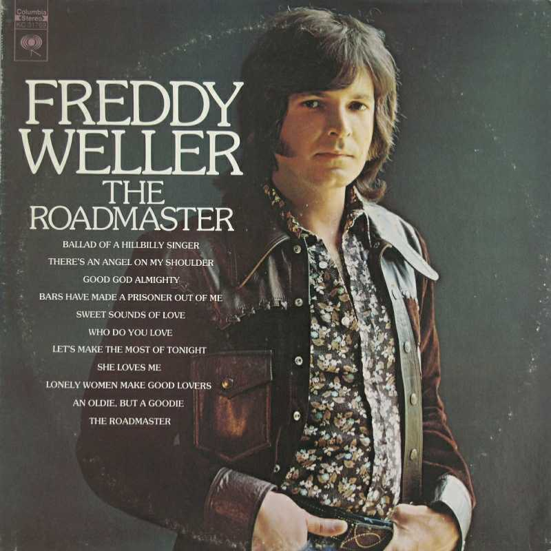 Freddy Weller - The Roadmaster (Country Music vinyl record for sale)
