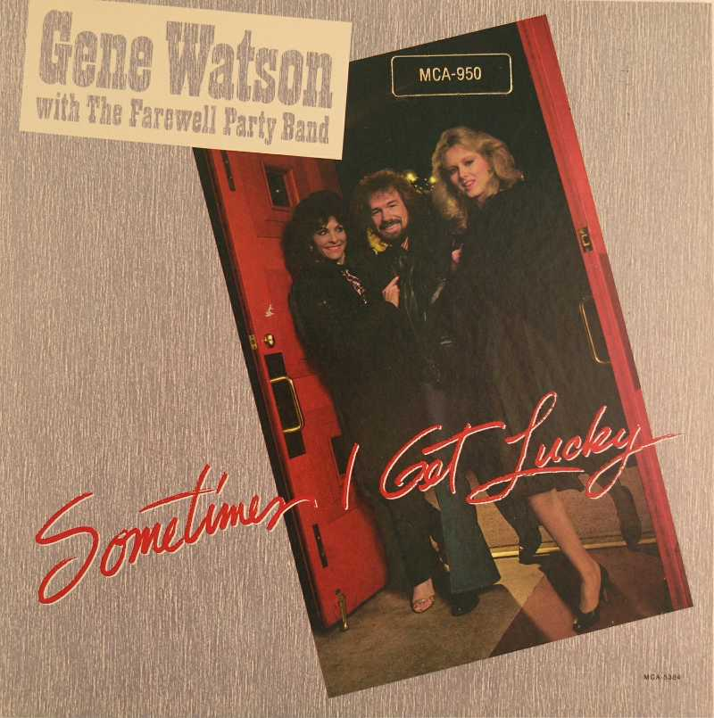 Gene Watson - Sometimes I Get Lucky (Country Music vinyl record for sale)