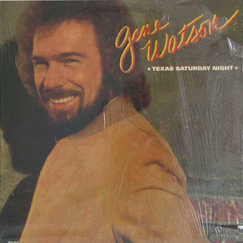 Gene Watson - Texas Saturday Night (Country Music vinyl record for sale)