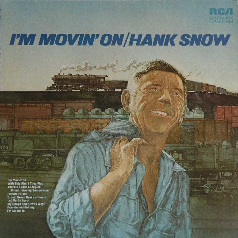 Hank Snow - I'm Moving On (Country Music vinyl record for sale)