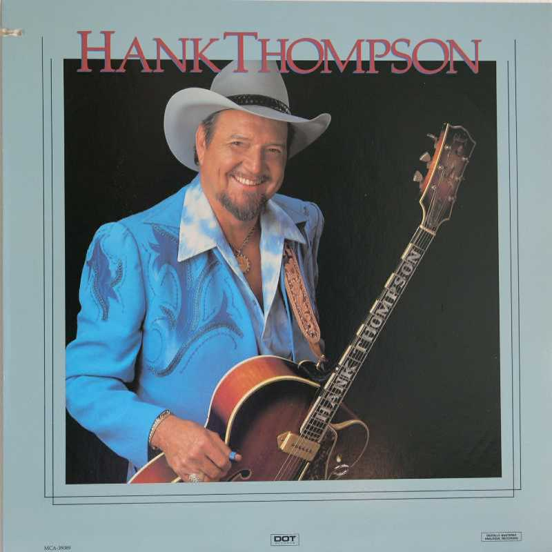 Hank Thompson (self titled album) (Country Music vinyl records and CDs for sale)