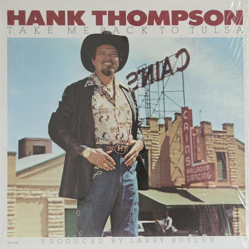 Hank Thompson - Take Me Back To Tulsa (Country Music vinyl records and CDs for sale)