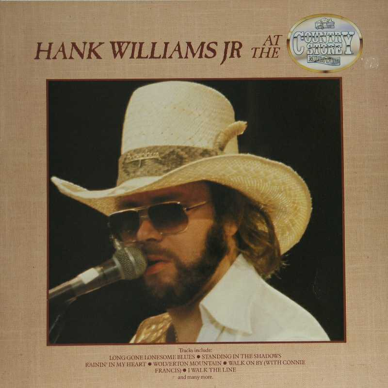 Hank Williams Junior - Hank Williams Junior At The Country Store (Country Music vinyl record for sale)""