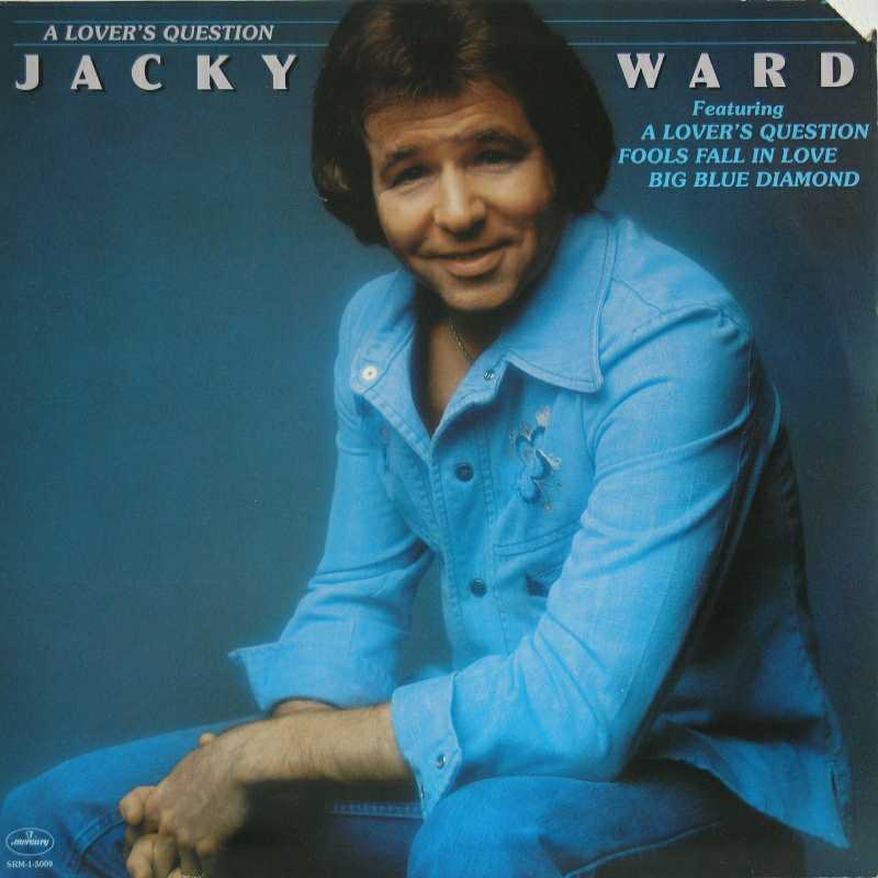 Jacky Ward - A Lover's Question (Country Music vinyl record for sale)