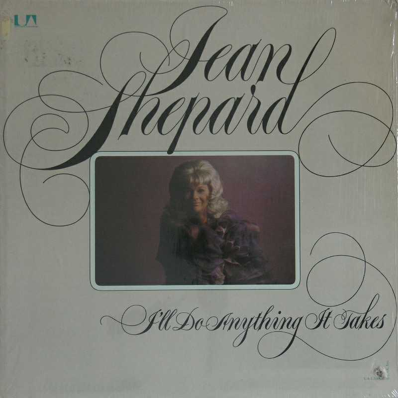 Jean Shepard - I'll Do Anything It Takes  (Country Music vinyl record for sale)