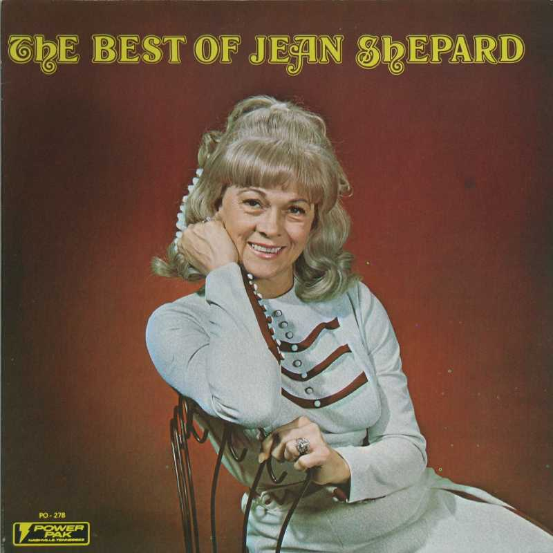 Jean Shepard - The Best Of Jean Shepard  (Country Music vinyl record for sale)