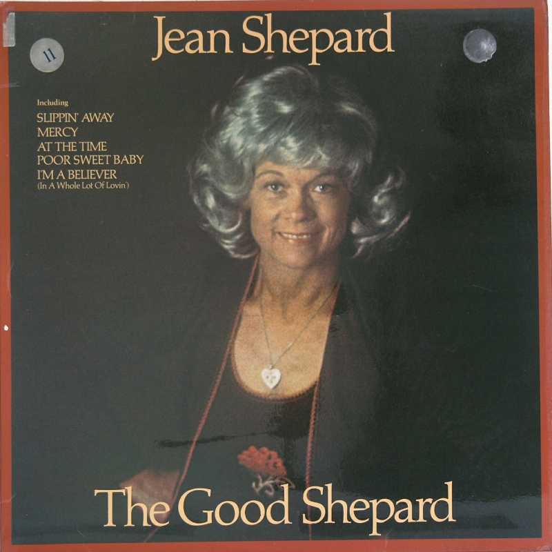 Jean Shepard - The Good Shepard  (Country Music vinyl record for sale)
