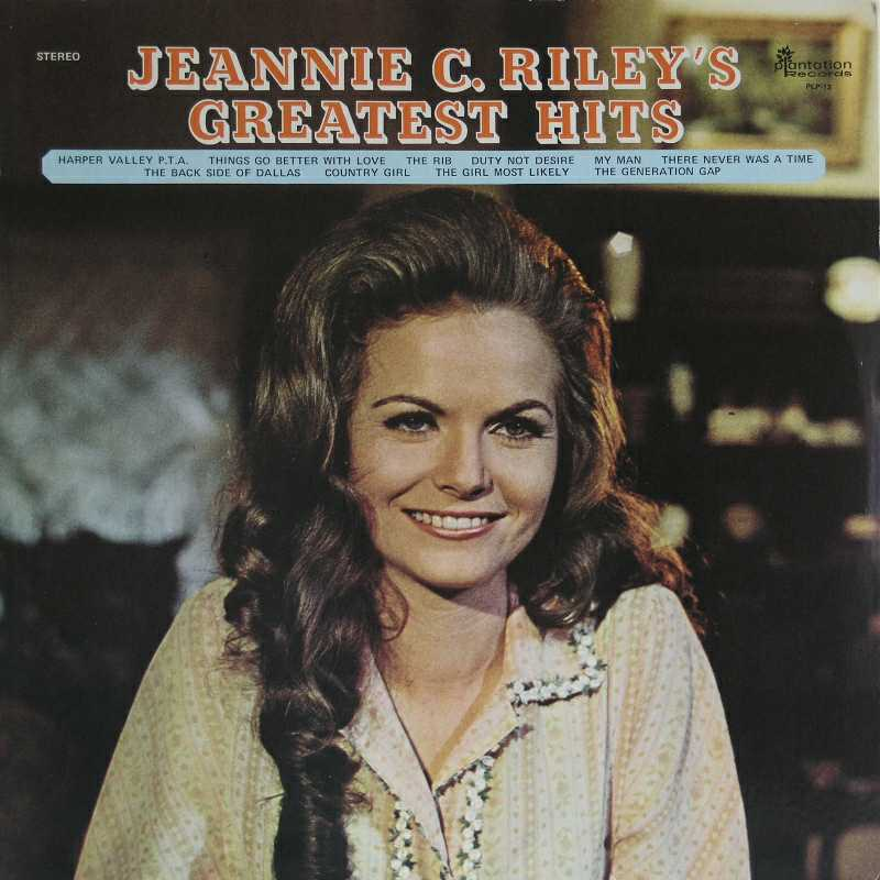 Jeannie C Riley - Jeannie c Riley's Greatest Hits (Country Music vinyl record for sale)