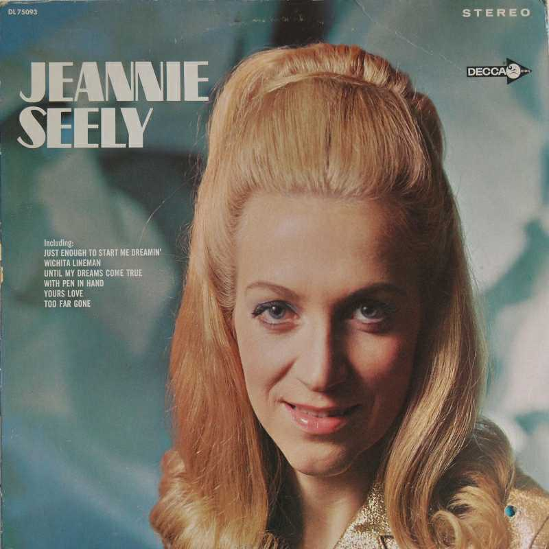 Jeannie Seely - Jeannie Seely, a self titled album (Country Music vinyl record for sale)