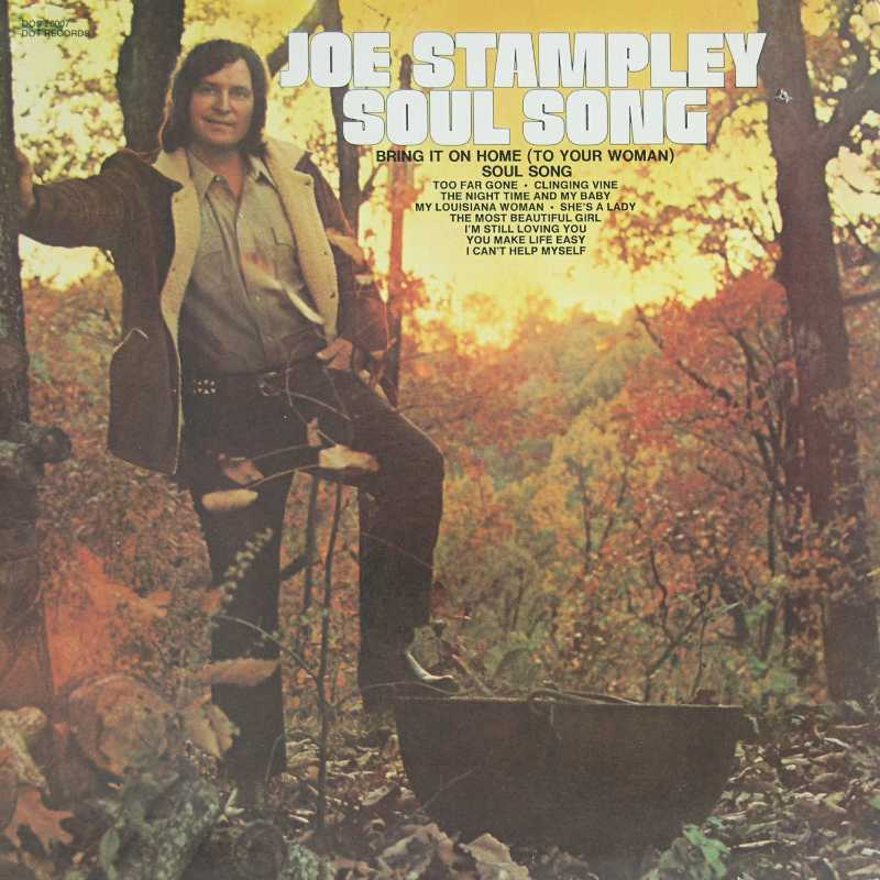Joe Stampley - Soul Song (Country Music vinyl record for sale)
