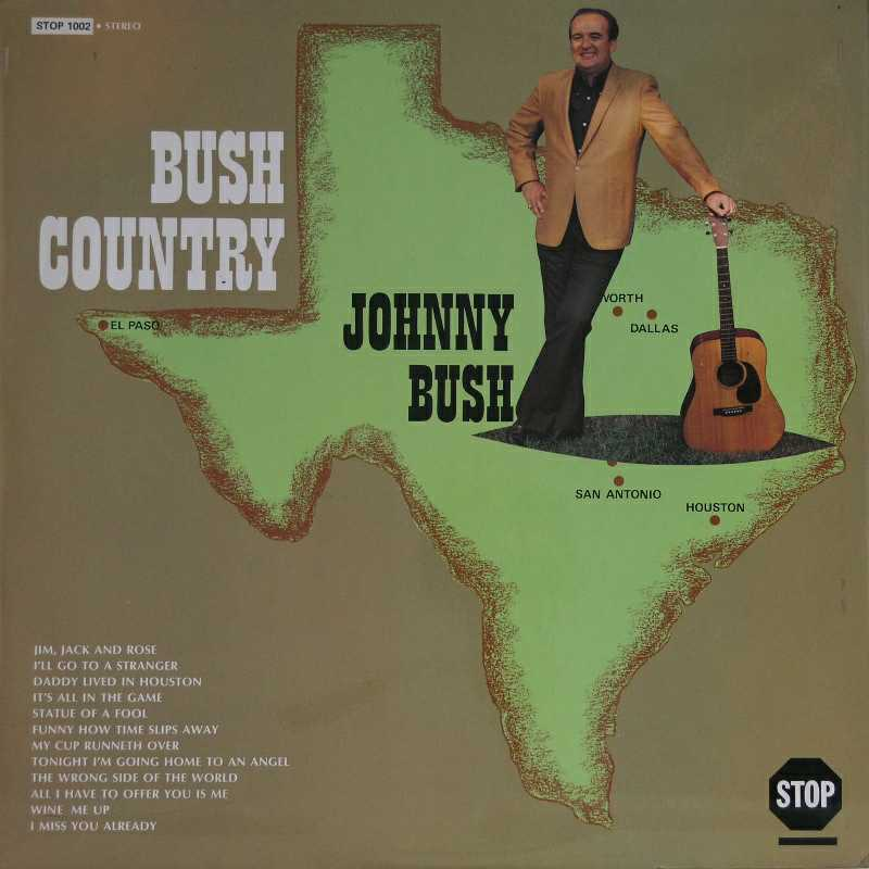 Johnny Bush - Bush Country (Country Music vinyl record for sale)
