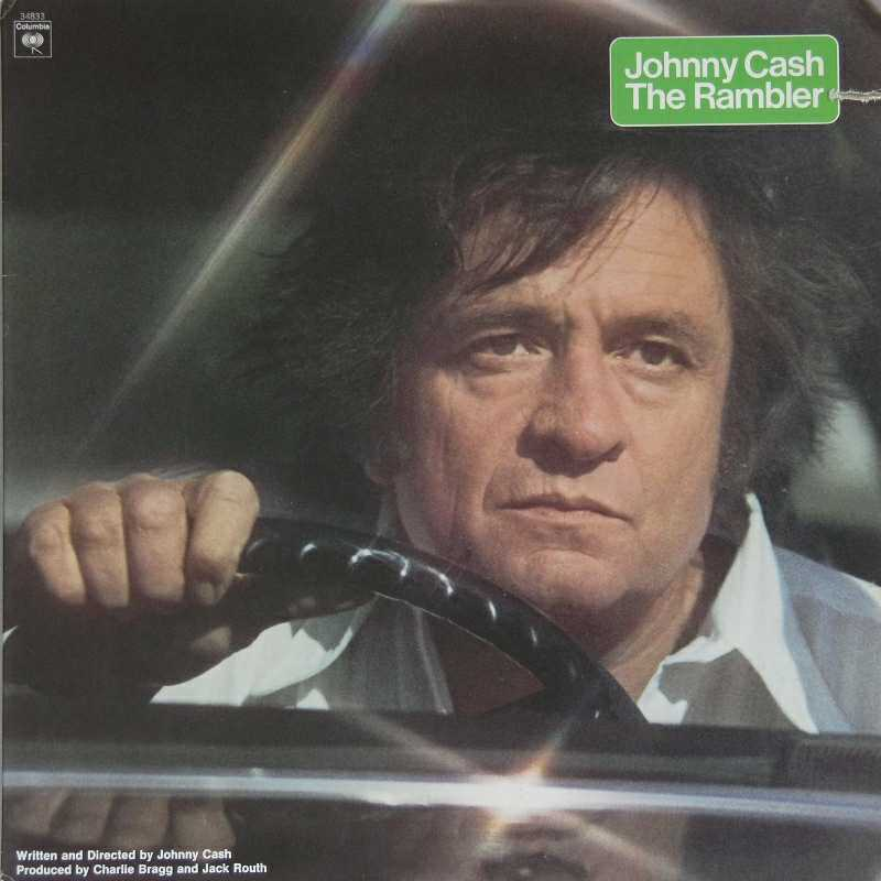 Johnny Cash - The Rambler  (Country Music vinyl record for sale)