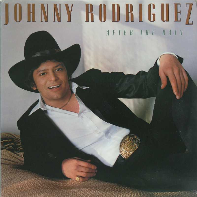 Johnny Rodriguez - After The Rain  (Country Music vinyl record for sale)
