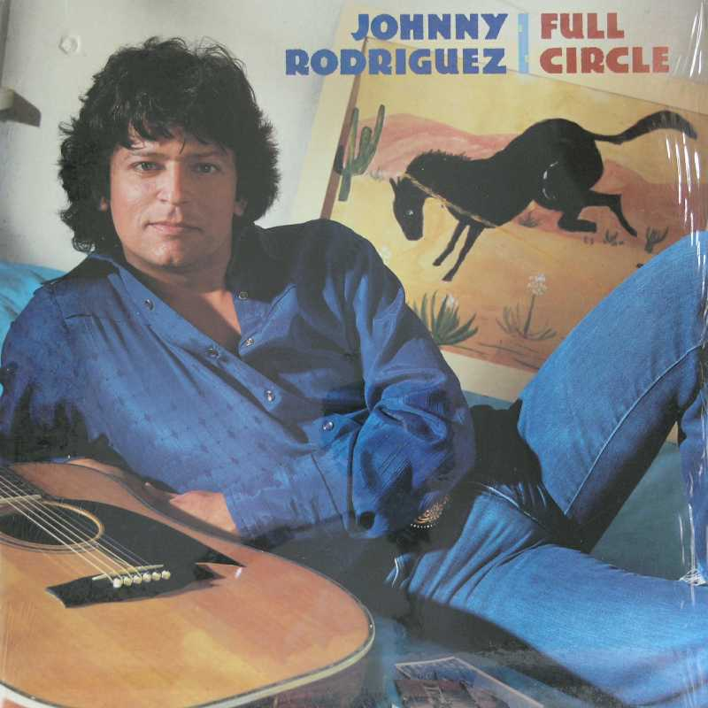 Johnny Rodriguez - Full Circle  (Country Music vinyl record for sale)