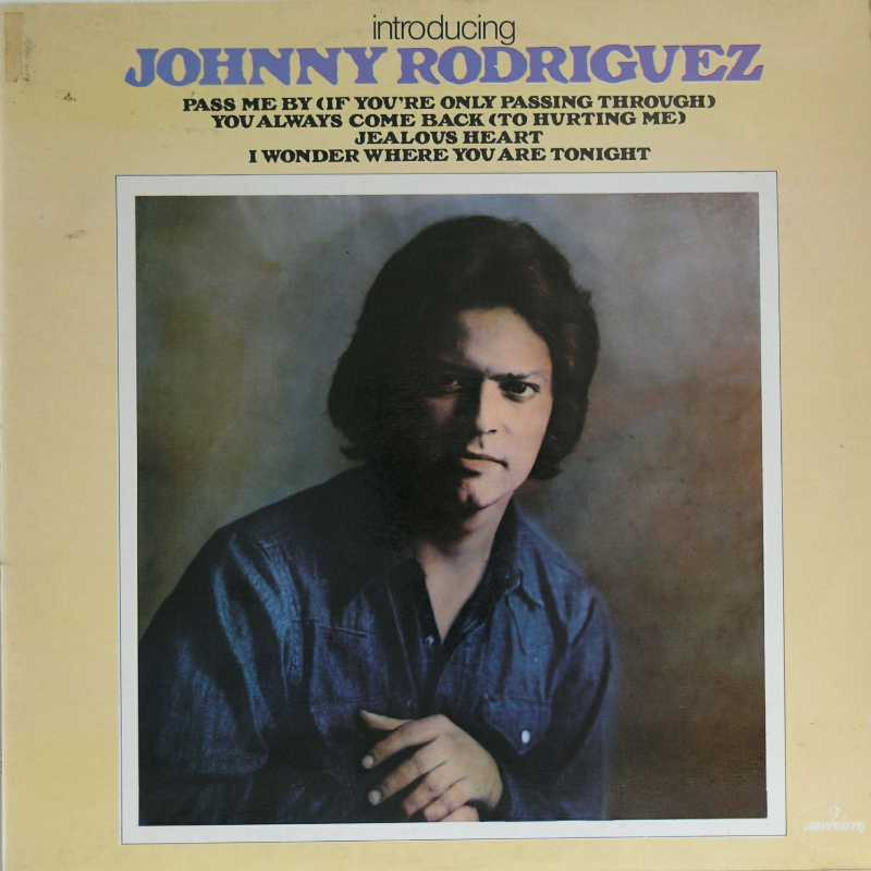 Johnny Rodriguez - Introducing Johnny Rodriguez  (Country Music vinyl record for sale)