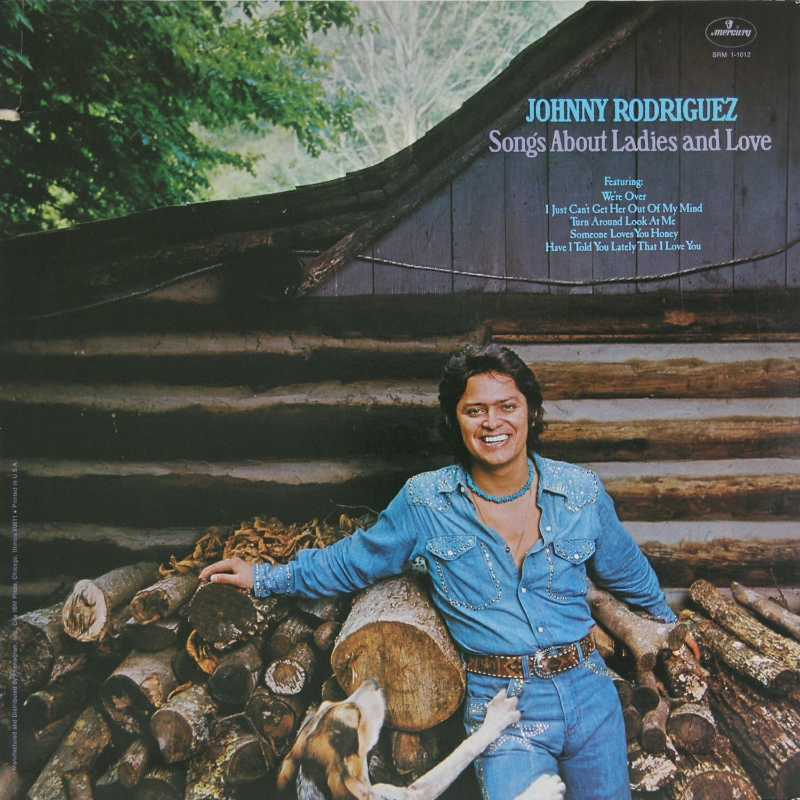 Johnny Rodriguez - Songs About Ladies And Love  (Country Music vinyl record for sale)