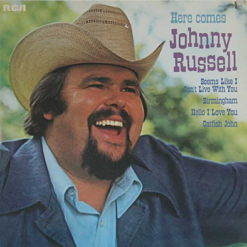 Johnny Russell - Here Comes Johnny Russell (Country Music vinyl record for sale)