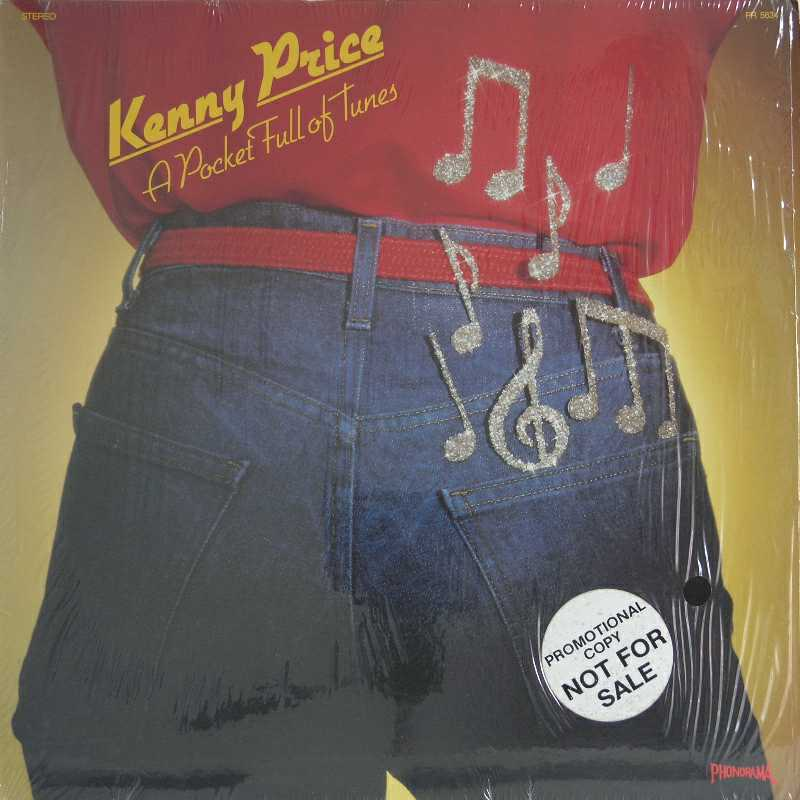 Kenny Price - A Pocket Full Of Tunes (Country Music vinyl record for sale)
