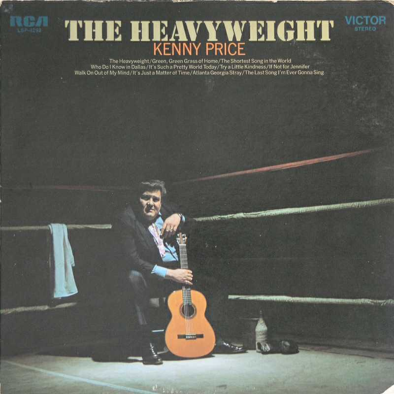 Kenny Price - The Heavyweight (Country Music vinyl record for sale)