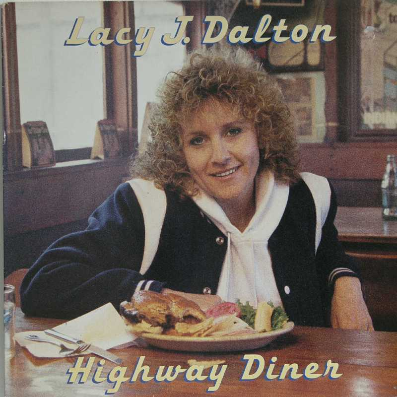 Lacy J Dalton - Highway Diner  (Country Music vinyl record for sale)