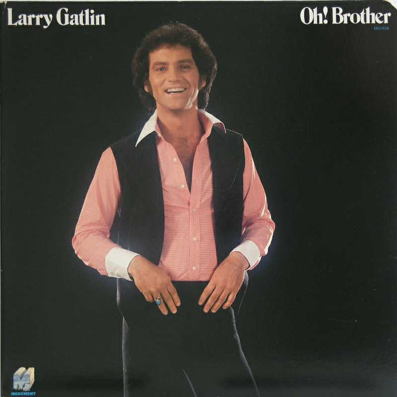 Larry Gatlin - Oh Brother (Country Music vinyl record for sale)