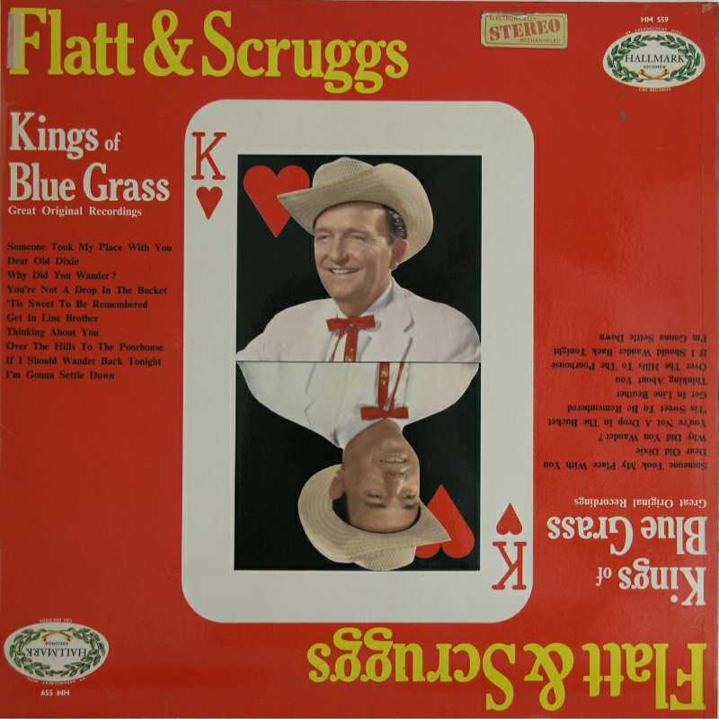Lester Flatt and Earl Scruggs - Kings Of Bluegrass (Country Music vinyl record for sale)