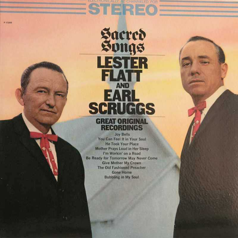 Lester Flatt and Earl Scruggs - Sacred Songs (Country Music vinyl record for sale)